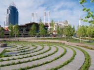 Phase two of Cincinnati's Smale Riverfront Park opened to the public on May 13, 2013.